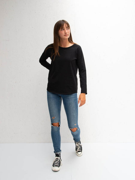 Chalk Tasha T-Shirt | Black