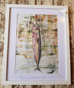 Mackerel Whitstable Harbour Print