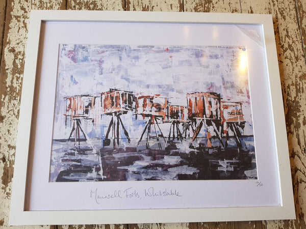 Maunsell Forts Whitstable Print