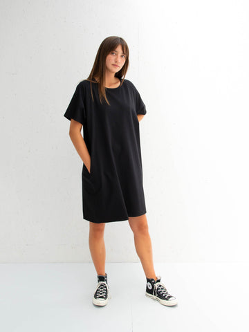 Chalk Linda Dress | Black