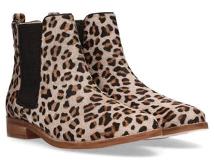 Maruti  Leopard Passoa Leather Chelsea Boot