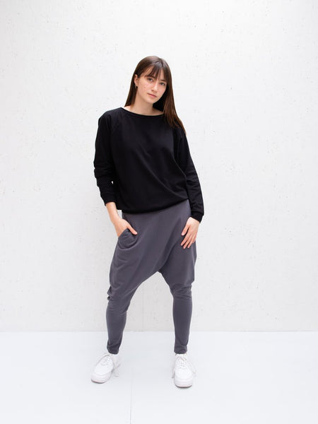 Chalk Holly Top | Black