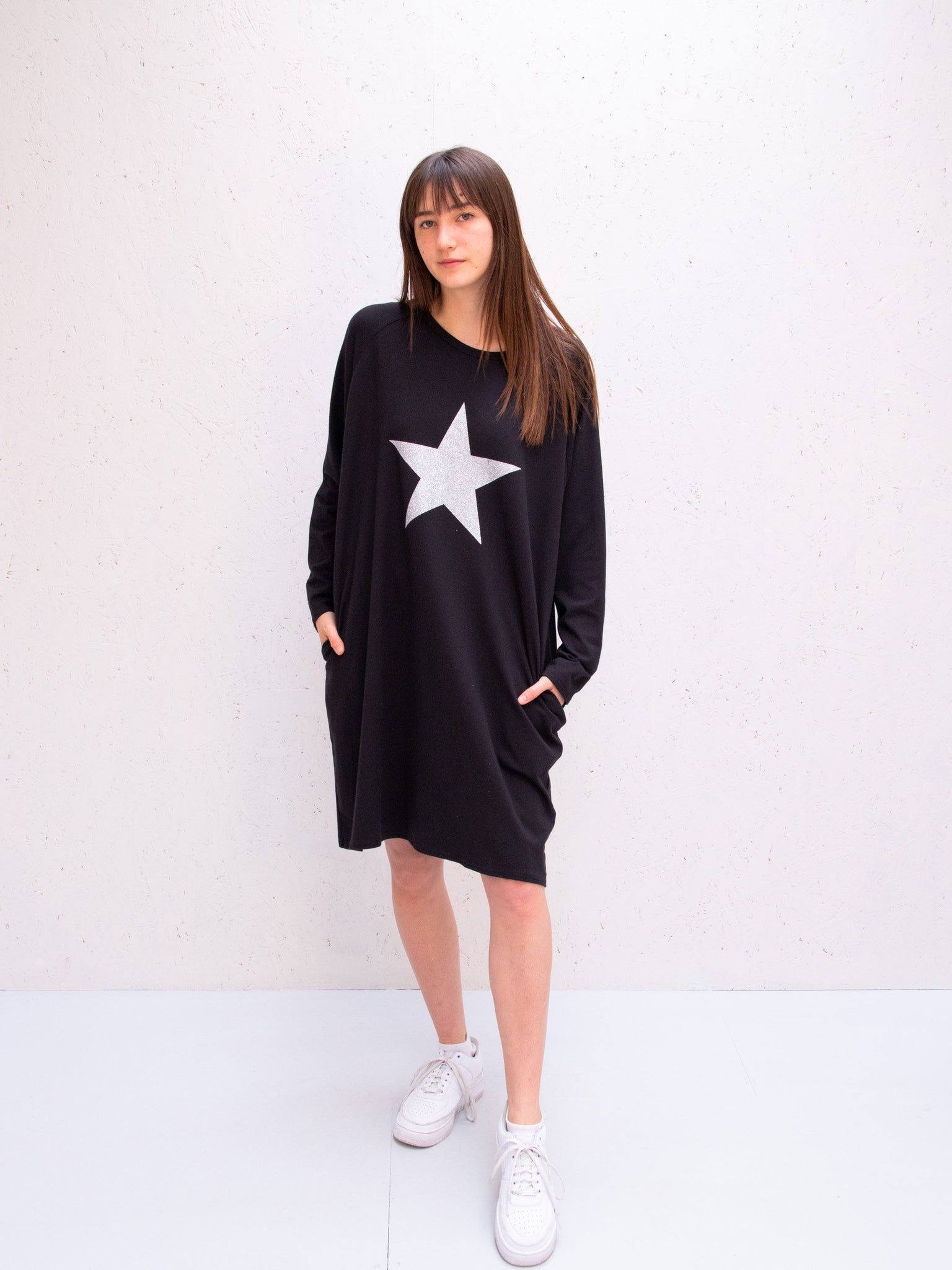 Chalk Brody Dress | Black