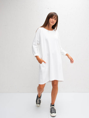 Chalk Brody Dress | White