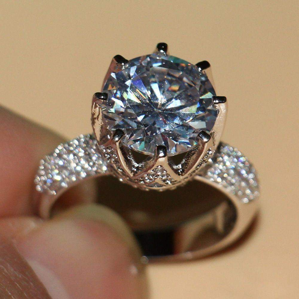 rings big piece story pinterest wedding ring the engagement glamour this popular on n most stone is