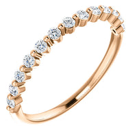 14K 1/4 CTW Diamond Anniversary Band