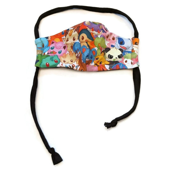 Masque enfant (3@5 ans) - Pocket monster cute