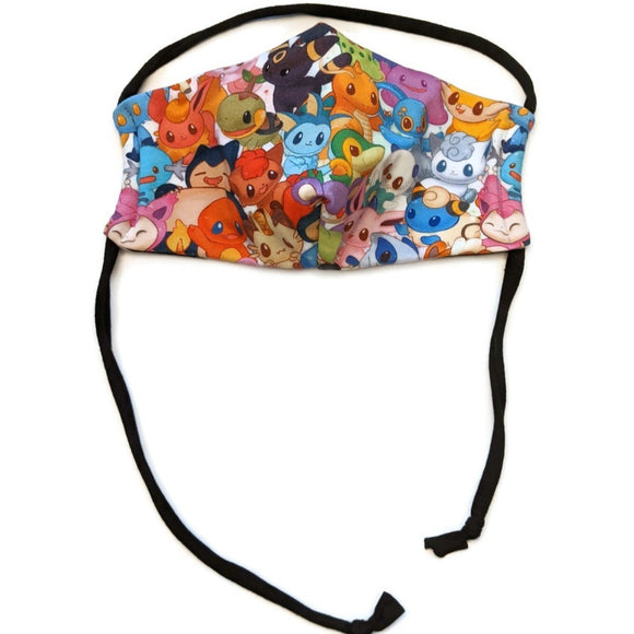 Masque femme - Pocket monster cute