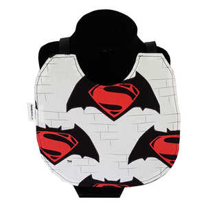 Moyenne bavette - Superman vs Batman (fond blanc)