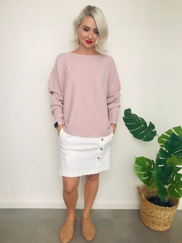LUCY KNIT | SOFT PINK