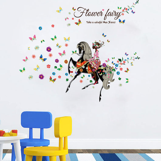 ... Flower Fairy Wall Decal