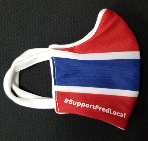 Montreal Hockey PPE Civilian Mask #SupportFredLocal Youth/Adult Small