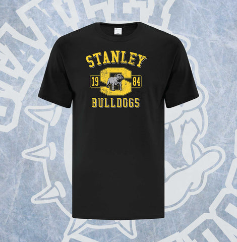 Bulldogs 1984 Hockey Adult T-Shirt
