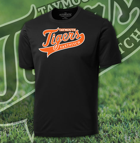 Taymouth Tigers Dry Fit T-Shirt - Adult