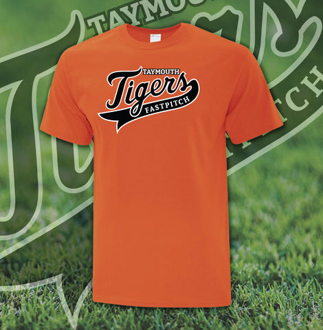 Taymouth Tigers Logo T-Shirt - Youth