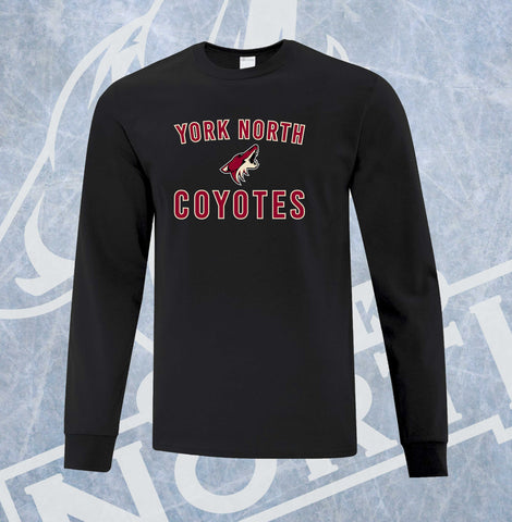 York North Coyotes Youth Long Sleeve