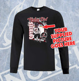 Custom Coyotes Hockey Mom, Dad and Grandparent Adult Long Sleeve