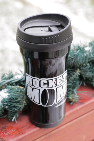 Hockey Mom Travel Mug