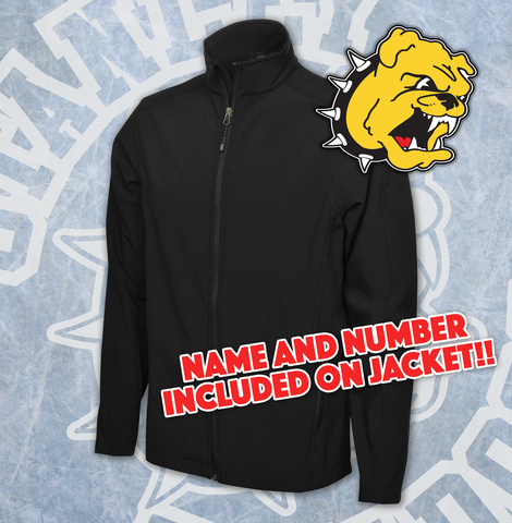 Stanley Bulldogs New Style Soft Shell Jacket Adult - Embroidery Included!