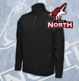Coyotes New Style Soft Shell Jacket Adult - Embroidery Included!