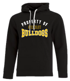 Property Of Stanley Bulldogs Youth Hooded Sweatshirt