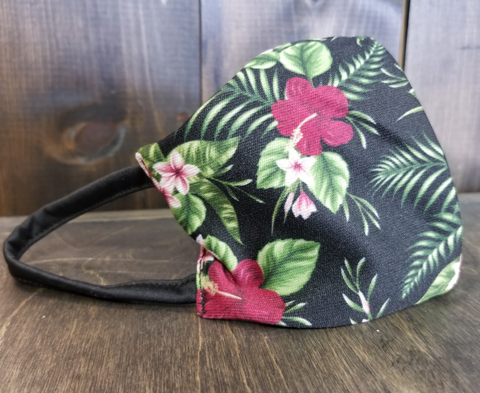 Floral Print PPE Civilian Mask #SupportFredLocal