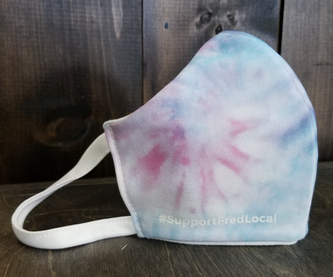 Fade Tie-Dye PPE Civilian Mask #SupportFredLocal