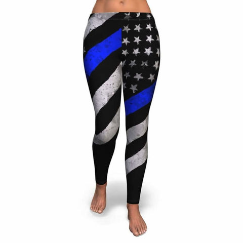Blue Line Leggings - MK Online Store 101