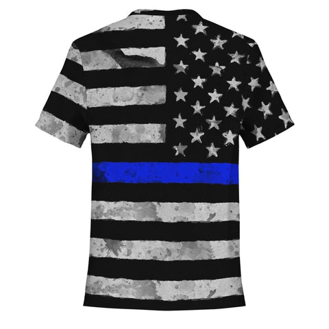 Blue Line Warrior T-Shirt - MK Online Store 101