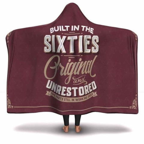 Built in the Sixties Hooded Blanket - MK Online Store 101