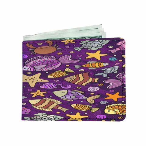 Cartoon Fishing Mens Wallet -1 - MK Online Store 101