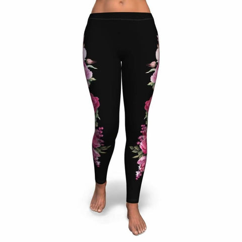 Floral Bouquet Leggings - MK Online Store 101