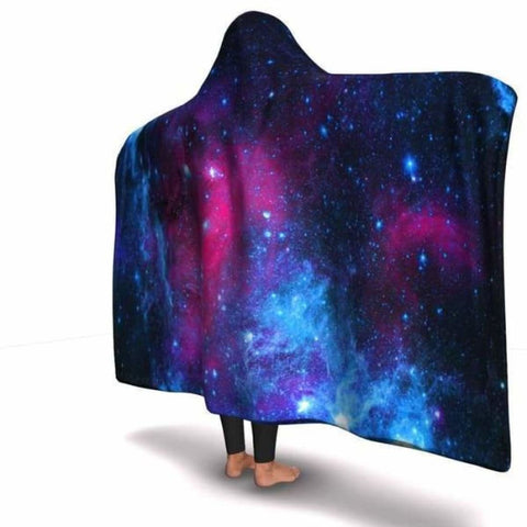 Galaxy Hooded Blanket - MK Online Store 101