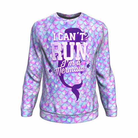 I Can't Run Sweatshirt - MK Online Store 101
