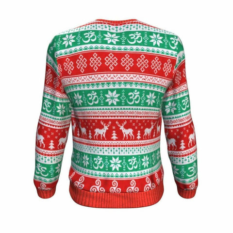 Namastay At Home Ugly Xmas Sweatshirt - MK Online Store 101
