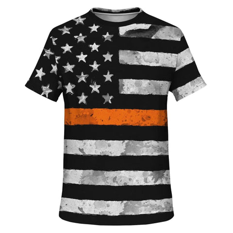 Orange Line T-Shirt - MK Online Store 101