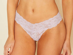 Cosabella Never Say Never Cutie Lowrider Thong Lavender
