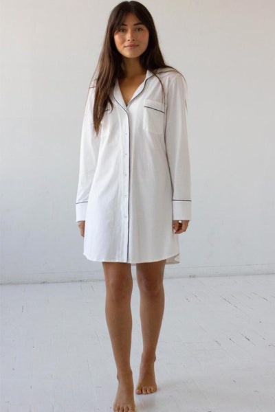 Salua Pima Cotton Boyfriend Shirt