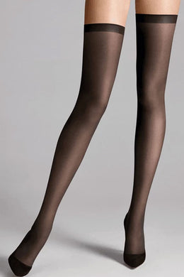 Wolford Fatal 15 Seamless Stay-Up