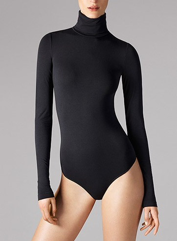 Wolford Orlando Turtleneck String Bodysuit
