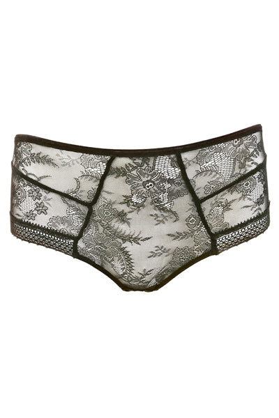 Samantha Chang Jet Set Longline Tattoo Lace Hipster