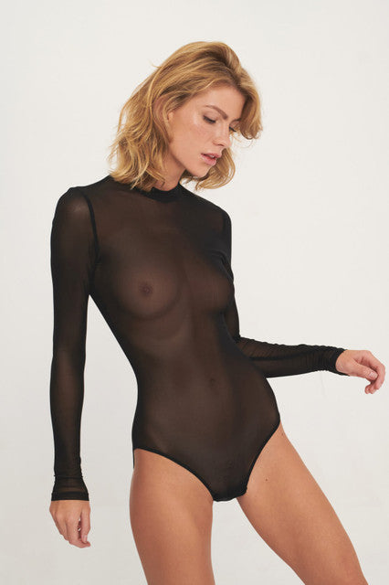 Undress Code Stay Simple Bodysuit