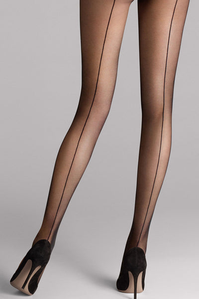 Wolford Individual 10 Back Seam  Tights