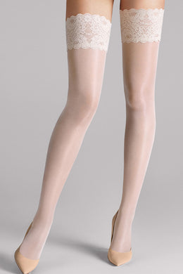 Wolford Satin Touch 20 Stay Ups