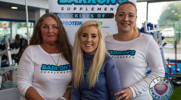 Barrons Supplements team up with GOGYM Limerick for the launch of GOGYM Limerick