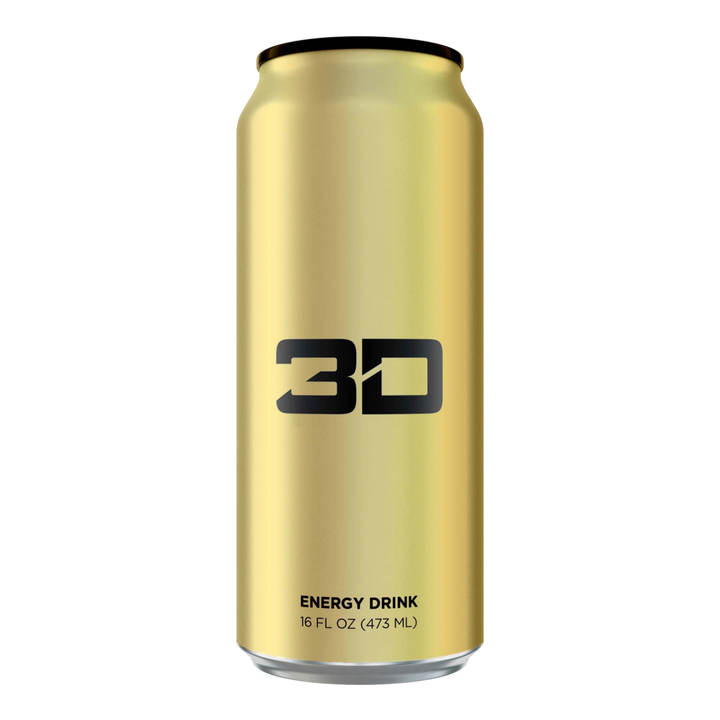 3d Energy Drink Gold 12 pack