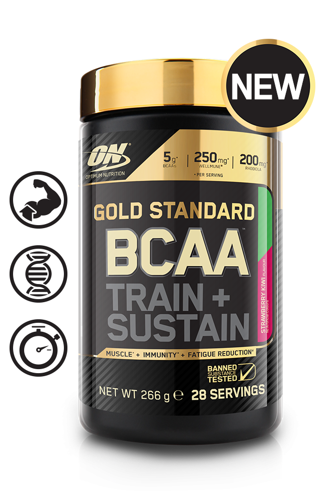 GOLD STANDARD BCAA  Train And Sustain