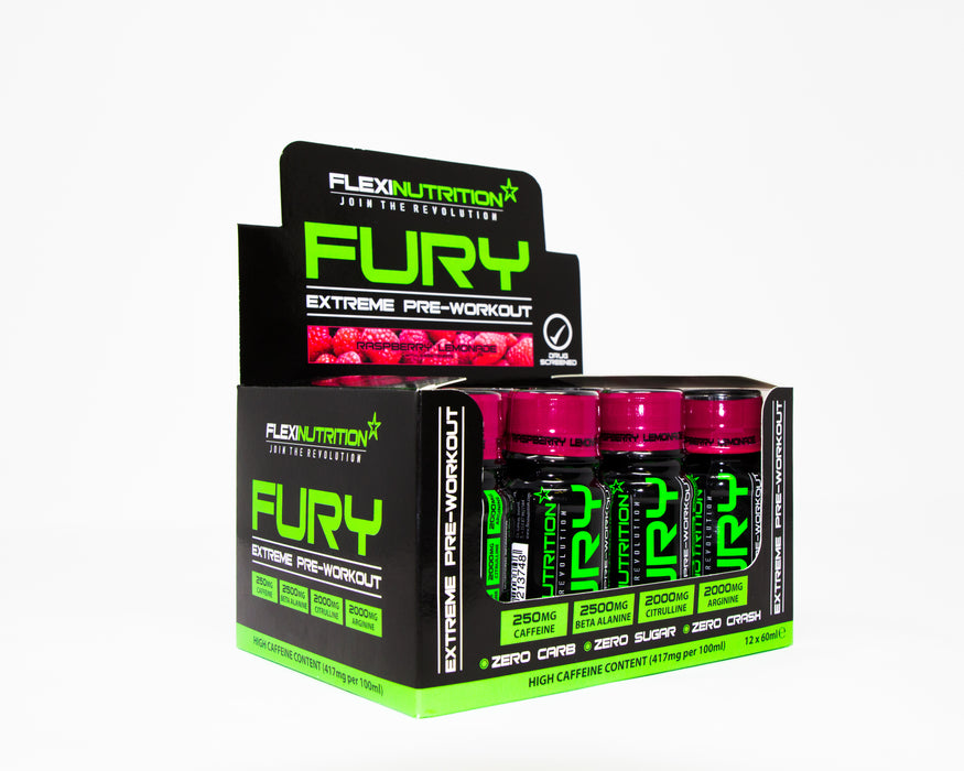 ** FURY – 60ml Shot ** 24*60ml