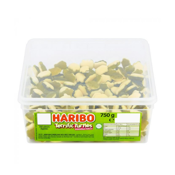 Haribo Terrific Turtles | Tub Of 300 Pieces