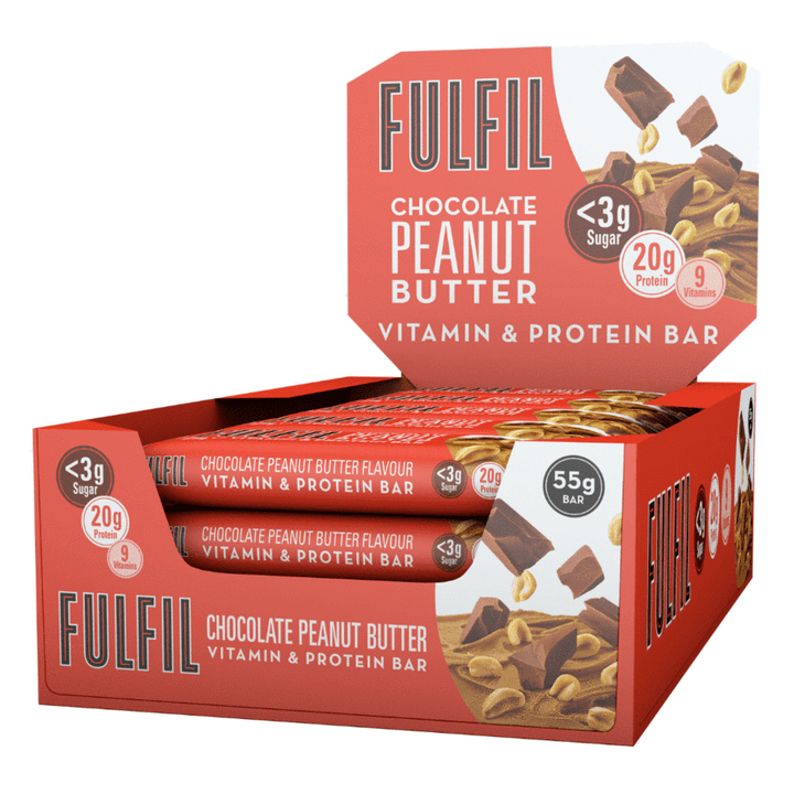 FULFIL CHOCOLATE PEANUT BUTTER BOX OF 15 BARS